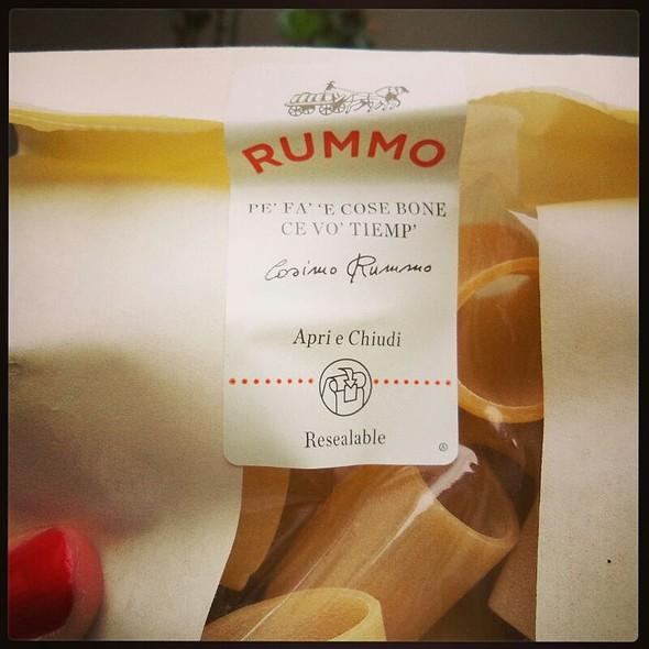 Paccheri Rummo @ Ciccina