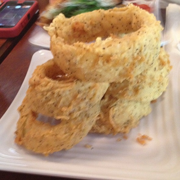 Onion Rings @ Liberty Burger
