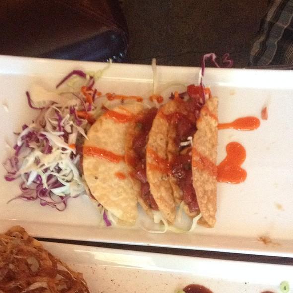 Spicy Ahi Tuna Tacos - Boneyard Bistro, Sherman Oaks, CA