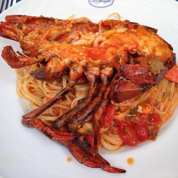 Spaghetti Langostino - La Famiglia, London