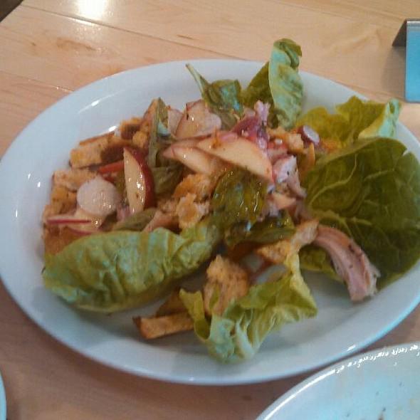 Pheasant and Peach Salad  @ Industrial Eats