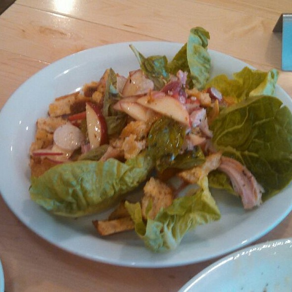Pheasant and Peach Salad  @ Industrial Eats