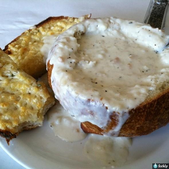 Clam Chowder Bread Bowl @ Vivolo's Chowder House