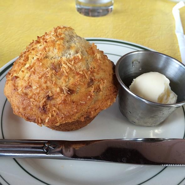 Banana Coconut Muffin @ Royal Cafe