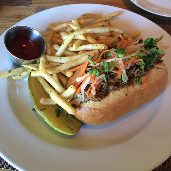 Jerk Chicken Sandwich @ BLD