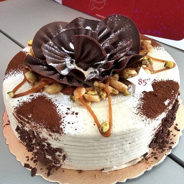 Coffee Mousse Cake @ 85C Bakery Cafe