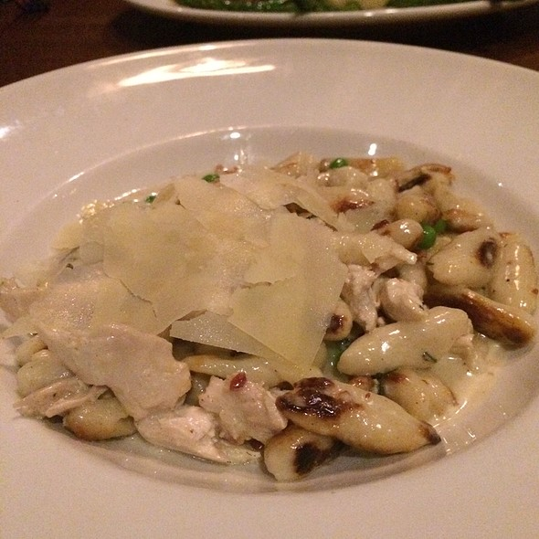 Gnocchi Carbonara @ Cooper's Hawk Winery & Restaurant