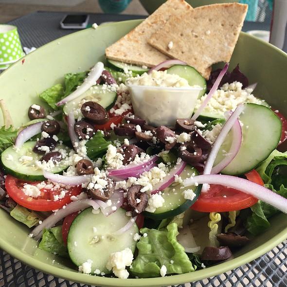 Greek Salad @ Green Market Cafe