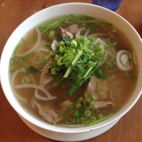 Pho With Rare Steak @ Pho Saigon Express