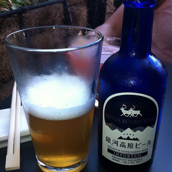 Ginga Kogen Beer - Sushi Lounge, Hoboken, NJ