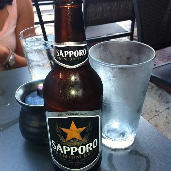 Sapporo Premium Beer - Sushi Lounge, Hoboken, NJ