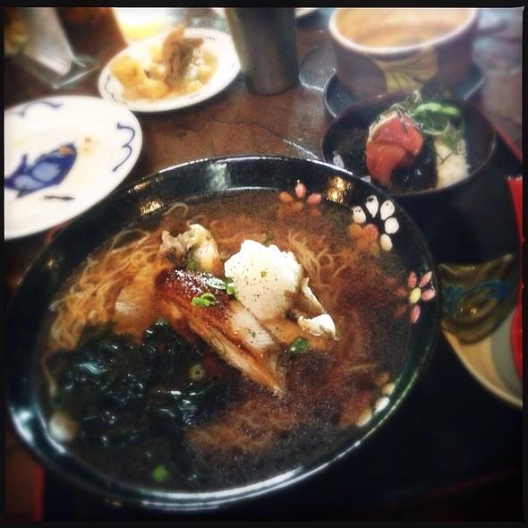 Unagi Dashi Shoyu Ramen @ Domo Restaurant