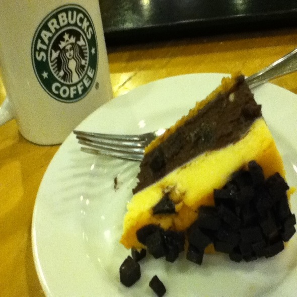 Chocolate Decadence Cheesecake @ Starbucks Coffee