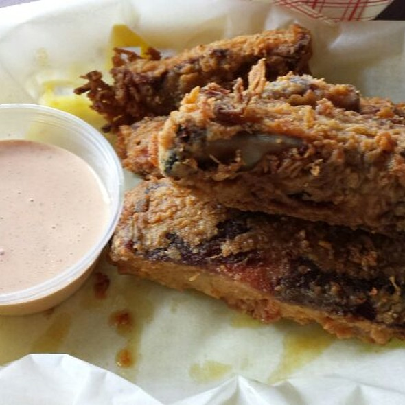 Chicken Fried BBQ Ribs