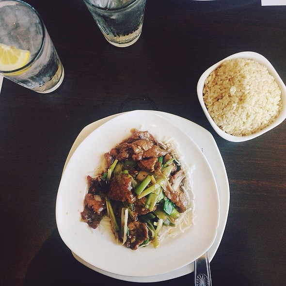 Mongolian Beef @ Sticky Rice Bistro & Bar