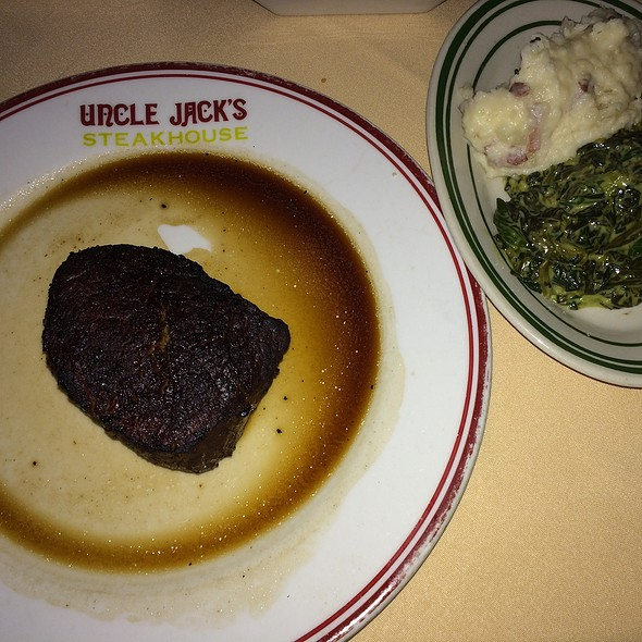Filet Mignon - Uncle Jack's Steakhouse - Midtown 56th Street, New York, NY