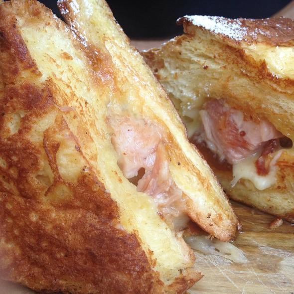 Brioche French Toast With Pork Belly - Terrain Garden Café - Westport, Westport, CT