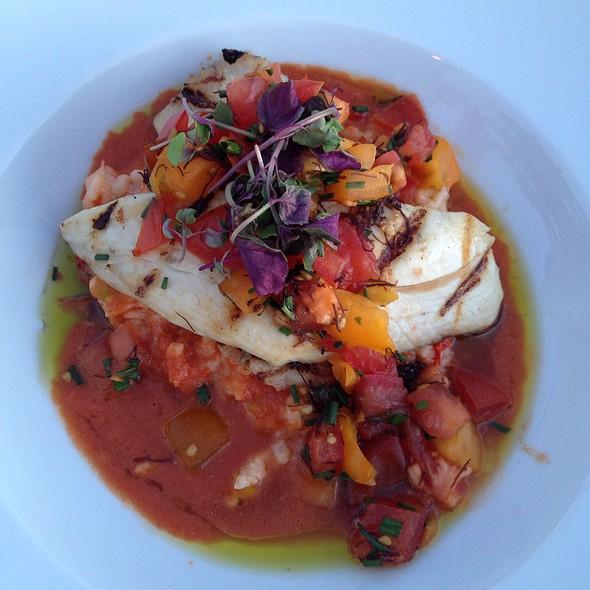 Grilled Kona Kampachi With Lobster Risotto - Kamuela Provision Co., Waikoloa, HI