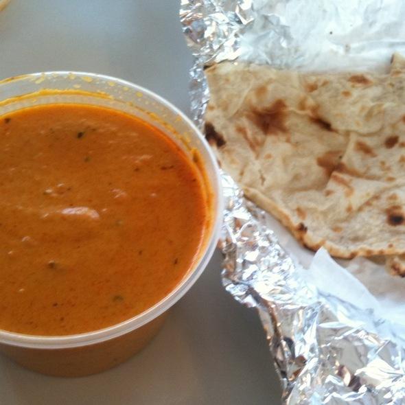 Chicken Korma, Naan @ Krishna