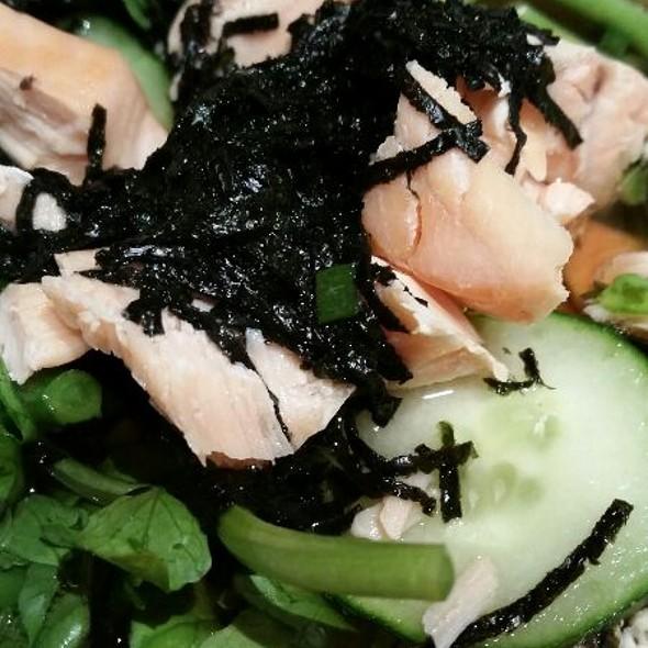Salmon chazuke