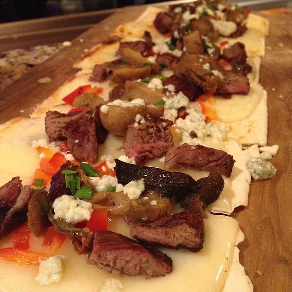 Steak  & Mushroom Flatbread