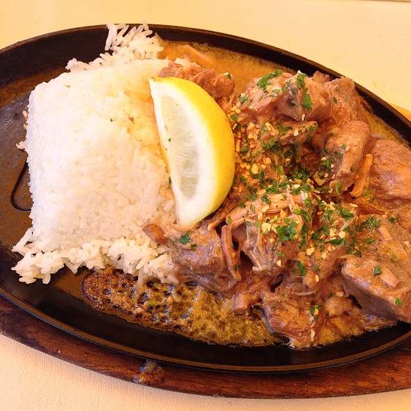 Sizzling Pork Adobo @ 7 Mile House