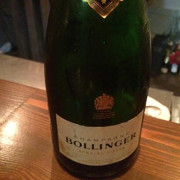 Bollinger Champagne @ Wine Bar Fura