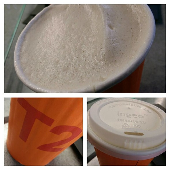 Lamington Honey Soy Chai Latte @ T2 Brew Bar