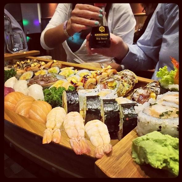 Sushi Boat For 4  @ Inari