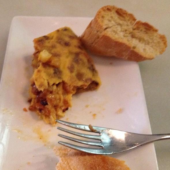 Tortilla patata y cebolla