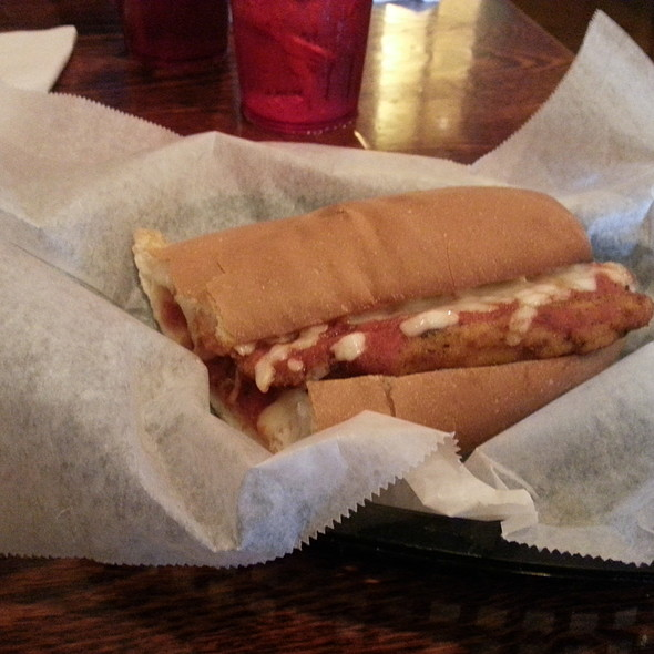 Chicken Parmesan Sub @ Pizza Villa & Restaurant