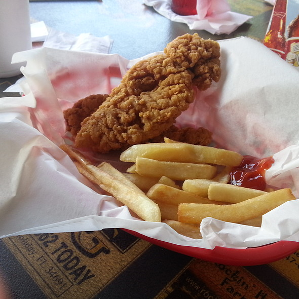 Chicken Tenders And Fries @ The Crab Shack