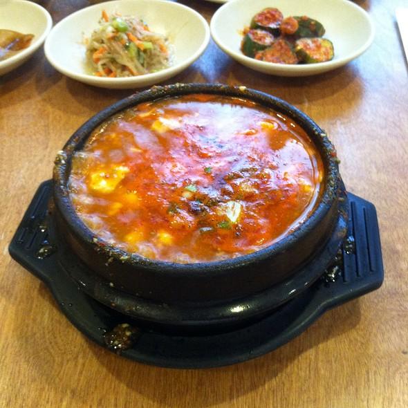 Tofu Vegetable Soup, Ban Chan And Rice @ Lighthouse Tofu