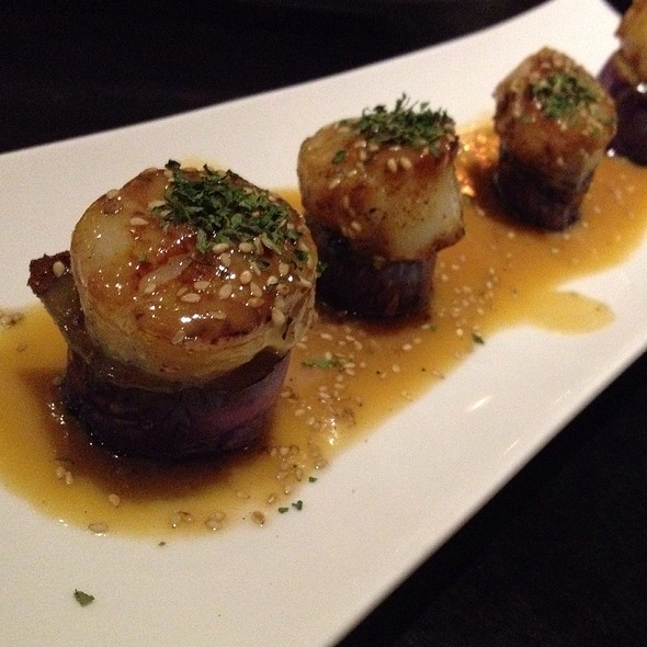 Seared Scallops @ Wasabi Bistro