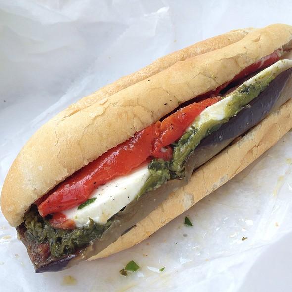 Original Veggie Hoagie @ Chickie's Italian Deli