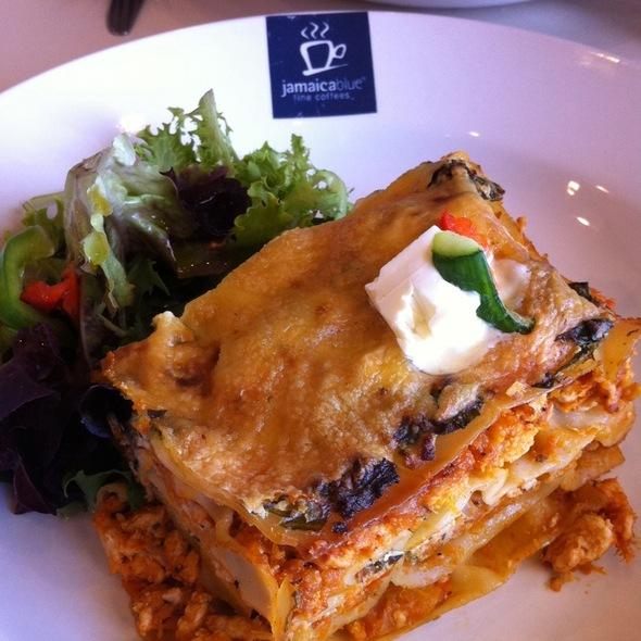 Chicken & Pumpkin Lasagna