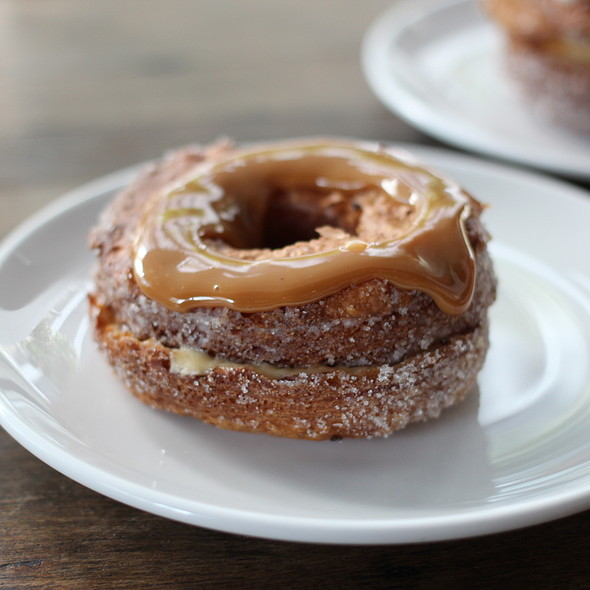 Dulce De Leche Cronut @ Wildflour Cafe + Bakery