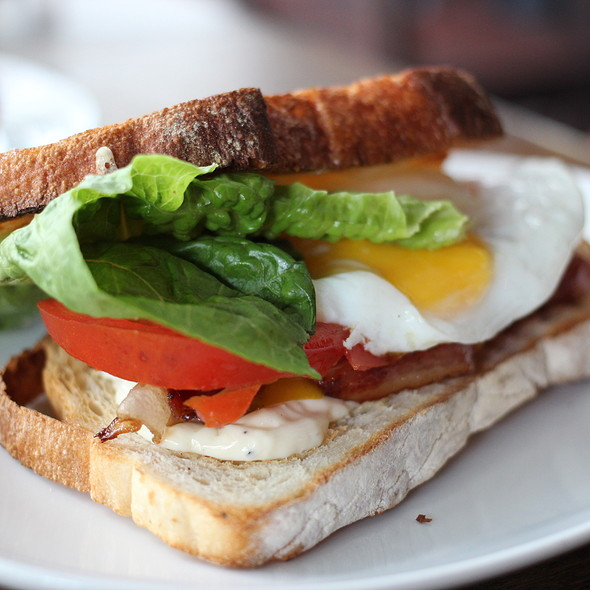 Bacon Egg Sandwich @ Wildflour Cafe + Bakery