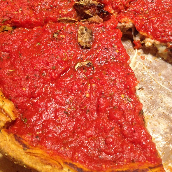 Chicago Style Stuffed Pizza @ Patxi's Chicago Pizza