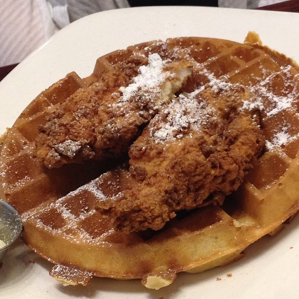 Chicken and Waffles - Stewart Penick's Terrace - Southpark, NC, Charlotte, NC