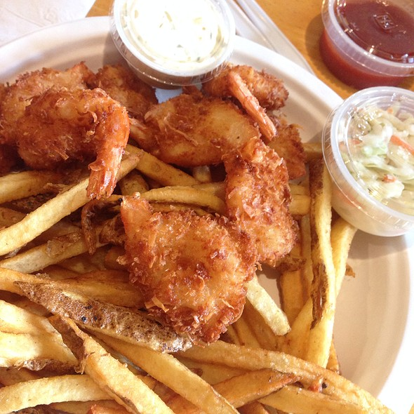 Coconut Shrimp @ Scales Seafood & More