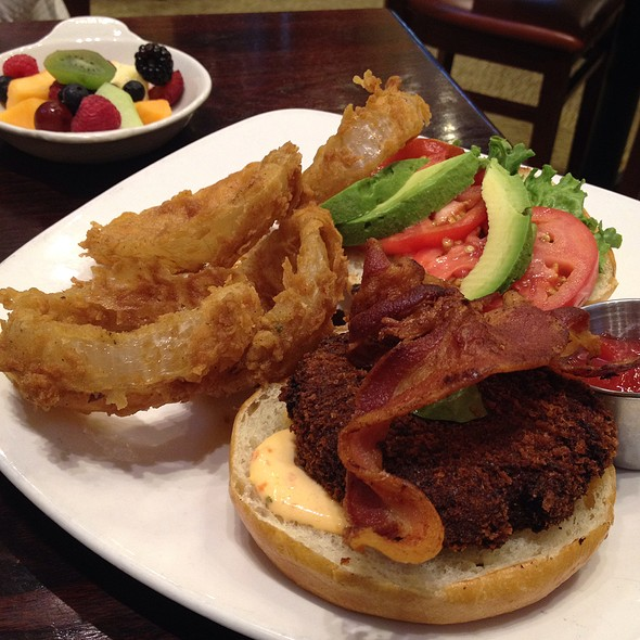 Crabcake Sandwich - Stewart Penick's Terrace - Southpark, NC, Charlotte, NC