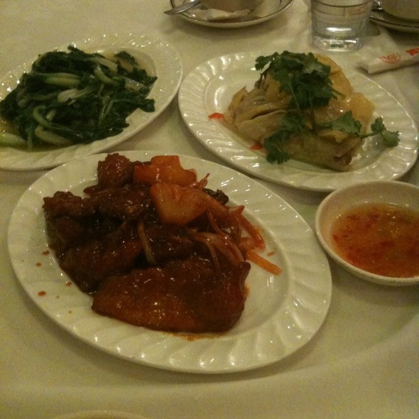 海南鶏飯 @ 馬華餐廳 Malaysian Chinese Restaurant
