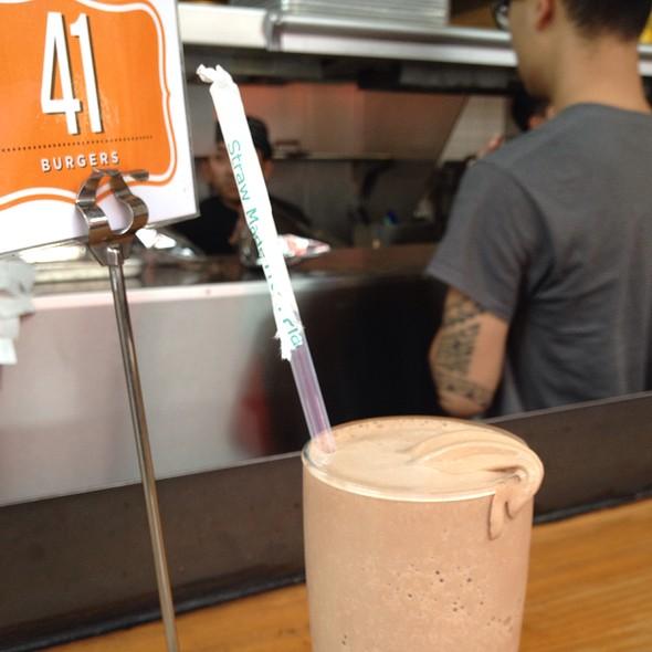 Chocolate Shake @ Super Duper Burger