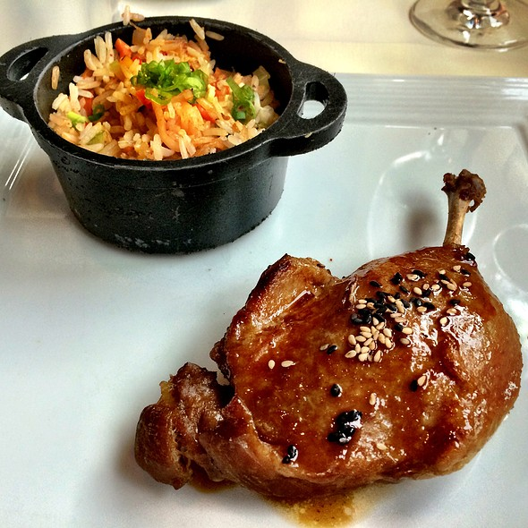 Hoison Glazed Duck