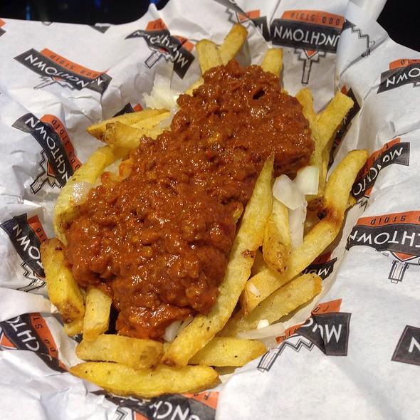 Chili Fries @ Munchtown Food Strip