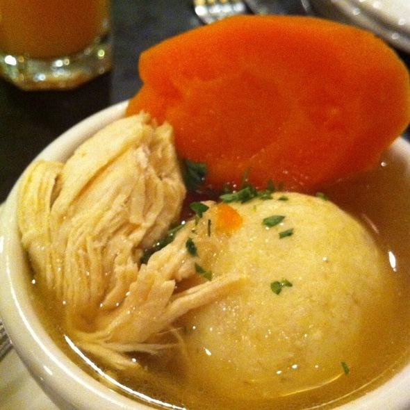 Matzoh Ball Soup @ Zaftigs Delicatessen
