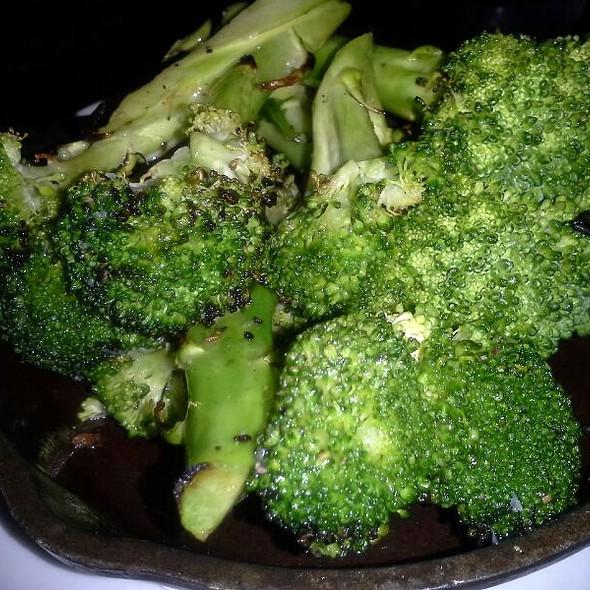 Grilled Broccoli - Redstone American Grill - Oakbrook Terrace, Oakbrook Terrace, IL