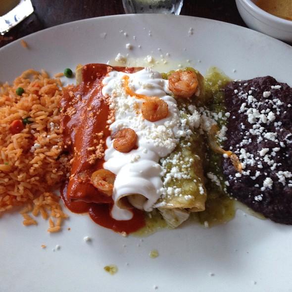 Enchiladas Tricolor - Consuelo Mexican Bistro, San Jose, CA