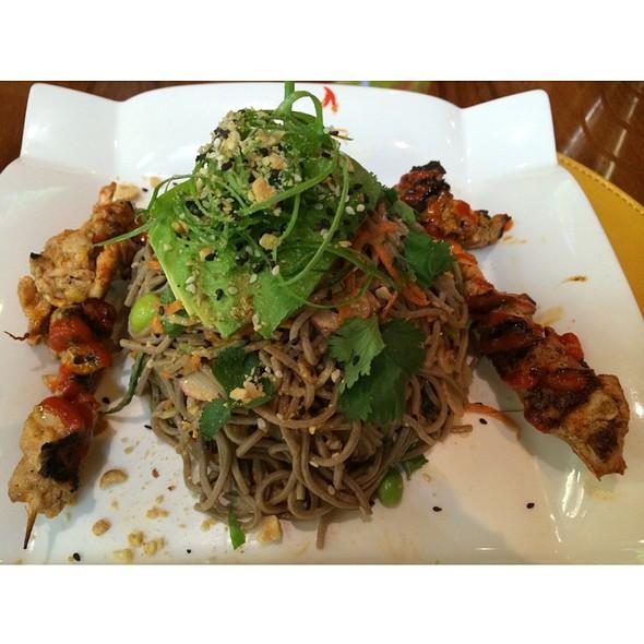 Soba Noodle Chicken Salad @ Gordon Ramsay BurGR